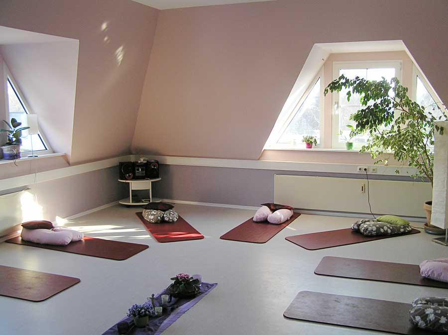 Raum für Kurse in der Hebammenpraxis in Bad Segeberg